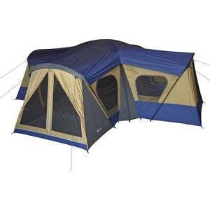 Ozark Trail 14-Person Tent with Electrical Cord Access 4 Rooms 4 Doors  sc 1 st  Best Inflatable Air Bed & Favored Family Camping Tents with Electricity Access Port with ...
