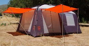 PahaQue Wilderness - Perry Mesa Screen Room / Tent Combo 8 Person Family Tent with : tent with porch screen - memphite.com
