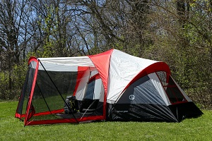 Enjoy The Screen Porch Area Of These Family Camping Tents