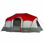 Wenzel Blue Ridge Large 14x9 Foot 2 Room 3 Window Seven Person Tent