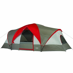 Big Wenzel Great Basin 10 Person 3 room large c&ing tent with electrical access port  sc 1 st  Best Inflatable Air Bed & Favored Large and Extra Large Family Camping Tents for 10 Persons ...