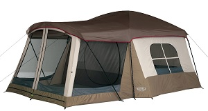 Wenzel Klondike 8 Person Tent with Screen Porch