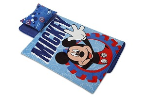 Fun Disney 174 Minnie Mouse Toddler Nap Mat With Strap And