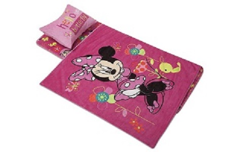 Fun Disney 174 Minnie Mouse Toddler Nap Mat With Bag And
