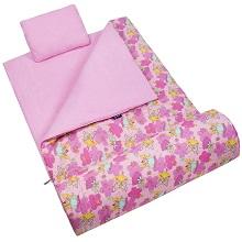 1a4fa5ff28 Wildkin Stay Warm Original Fairies Sleeping Bag for Girls - Pink