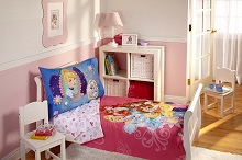 Pink Themed And Popular Toddler Bedding Sets For Girls